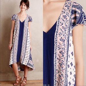 NWOT Anthropologie Maeve Summertide Swing Dress S